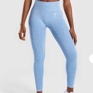 Gymshark Vital Seamless Leggings - Blue